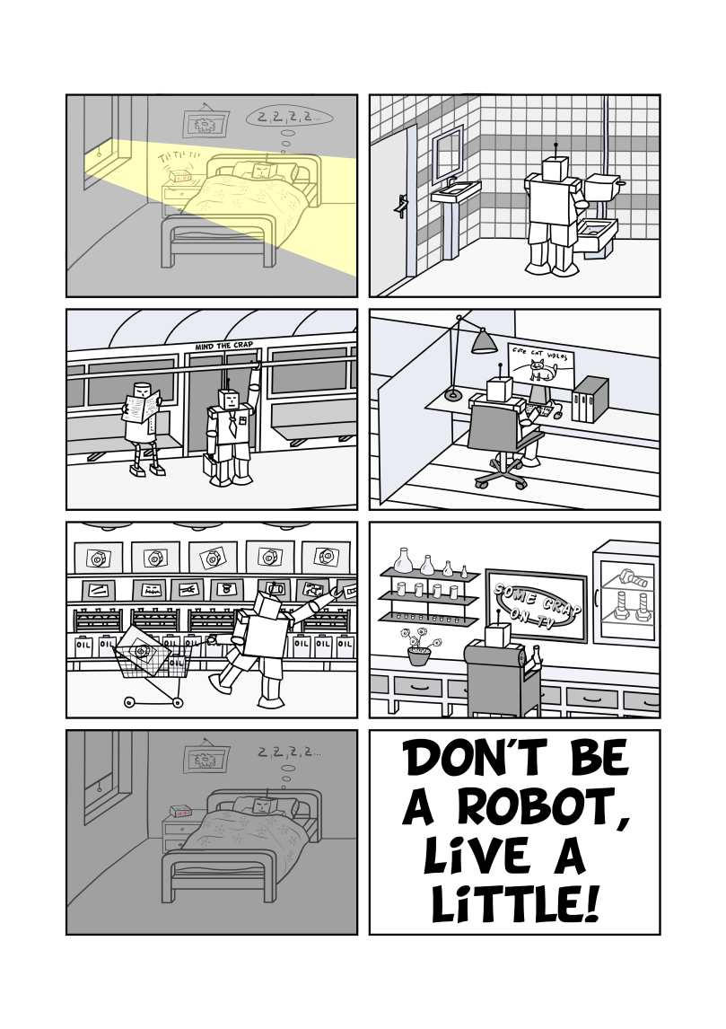 Don't be a Robot EN